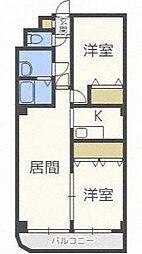 KINSEI[2階]の間取り