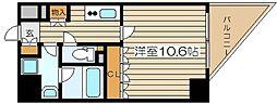 Belle Face Uchikyuhouji[3階]の間取り