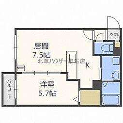 Swiru[2階]の間取り