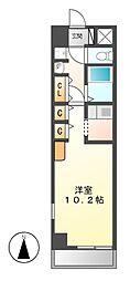 Le Vent 覚王山[3階]の間取り