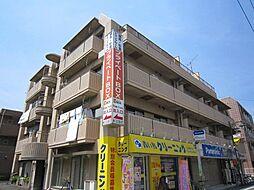 東京都練馬区上石神井4の賃貸マンションの外観