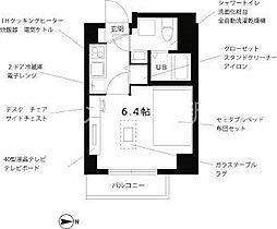 プチグランデアクア[4階]の間取り