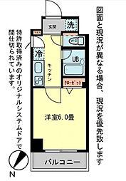 ロワール関内エナジス[11階号室]の間取り
