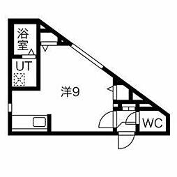 宮の沢駅 4.2万円