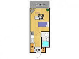 ロイヤルメゾン南武庫之荘[2階]の間取り