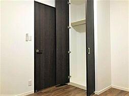 各居室にはもちろん、LDKや廊下等にも収納スペースが充実。