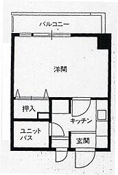 ニュープレジデント藤澤[209号室]の間取り