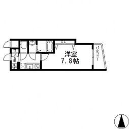 Luxe布施南(ラグゼ)[905号室号室]の間取り