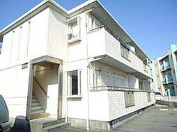 静岡県沼津市我入道の賃貸アパートの外観