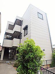 大阪府大阪市東住吉区湯里1丁目の賃貸マンションの外観