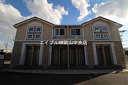 岡山県岡山市中区平井4丁目の賃貸アパートの外観