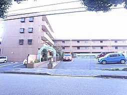千葉県柏市北柏台の賃貸マンションの外観