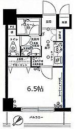 グリフィン新横浜七番館[703号室]の間取り