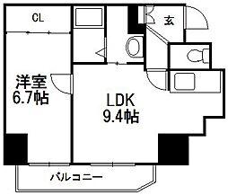 北海道札幌市西区山の手三条4丁目の賃貸マンションの間取り