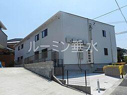 兵庫県三木市本町3丁目の賃貸アパートの外観