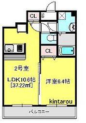 Victorian Court Makuhari[3階]の間取り