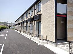 広島県尾道市山波町の賃貸アパートの外観