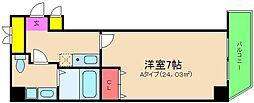 アリバ豊崎[6階]の間取り