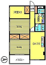 第3長庄マンション[3階]の間取り