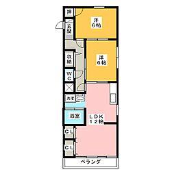 豊島ビル[2階]の間取り