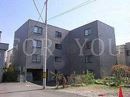 北海道札幌市豊平区月寒西一条7丁目の賃貸マンションの外観