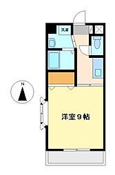 サンハイツ名取2[3階]の間取り