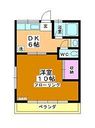 コーポ町田[2階]の間取り