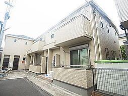 東京都足立区栗原2丁目の賃貸アパートの外観