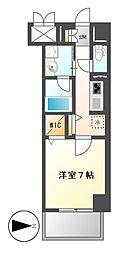 プレミアムコート新栄[10階]の間取り
