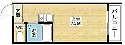 チサンマンション新大阪[6階]の間取り