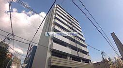 レジュールアッシュ天王寺パークサイド[6階]の外観