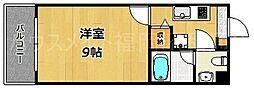 日興ビルIII[6階]の間取り