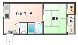 第5大丸マンション[2階]の間取り