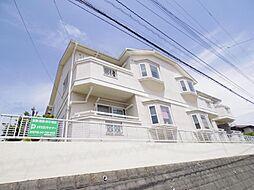 千葉県松戸市八ケ崎5丁目の賃貸アパートの外観