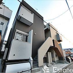 愛知県名古屋市西区江向町3丁目の賃貸アパートの外観
