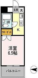 神奈川県横浜市戸塚区俣野町の賃貸マンションの間取り