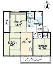 新金岡駅 4.8万円