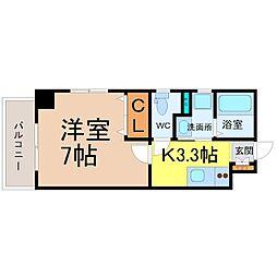 ラ・フォンテーヌ大須[4階]の間取り