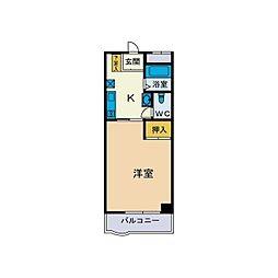 ベーネパラッツォアキI[1階]の間取り