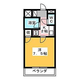 長泉コート[3階]の間取り