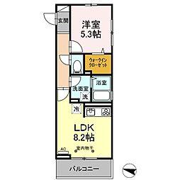 JR総武線 小岩駅 徒歩29分の賃貸アパート 1階1LDKの間取り
