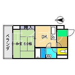 住友ハイツ(本町)[5階]の間取り