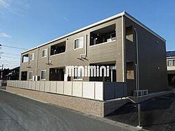 静岡県浜松市浜北区豊保の賃貸アパートの外観