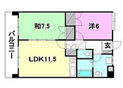 UTARA  HOUSE[202 号室号室]の間取り