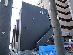 愛知県名古屋市中村区本陣通5の賃貸アパートの外観