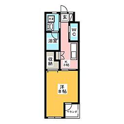 U・TOPIA 40[3階]の間取り