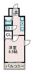 東京都町田市成瀬が丘2丁目の賃貸マンションの間取り