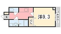 パーソナル飯田12[205号室]の間取り