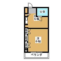 コンフォルム八幡[5階]の間取り
