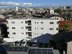 愛知県清須市西枇杷島町南松原の賃貸マンションの外観